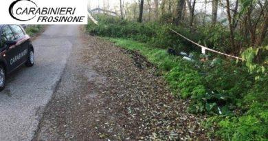 rifiuti anagni carabinieri discarica frosinone ciociaria