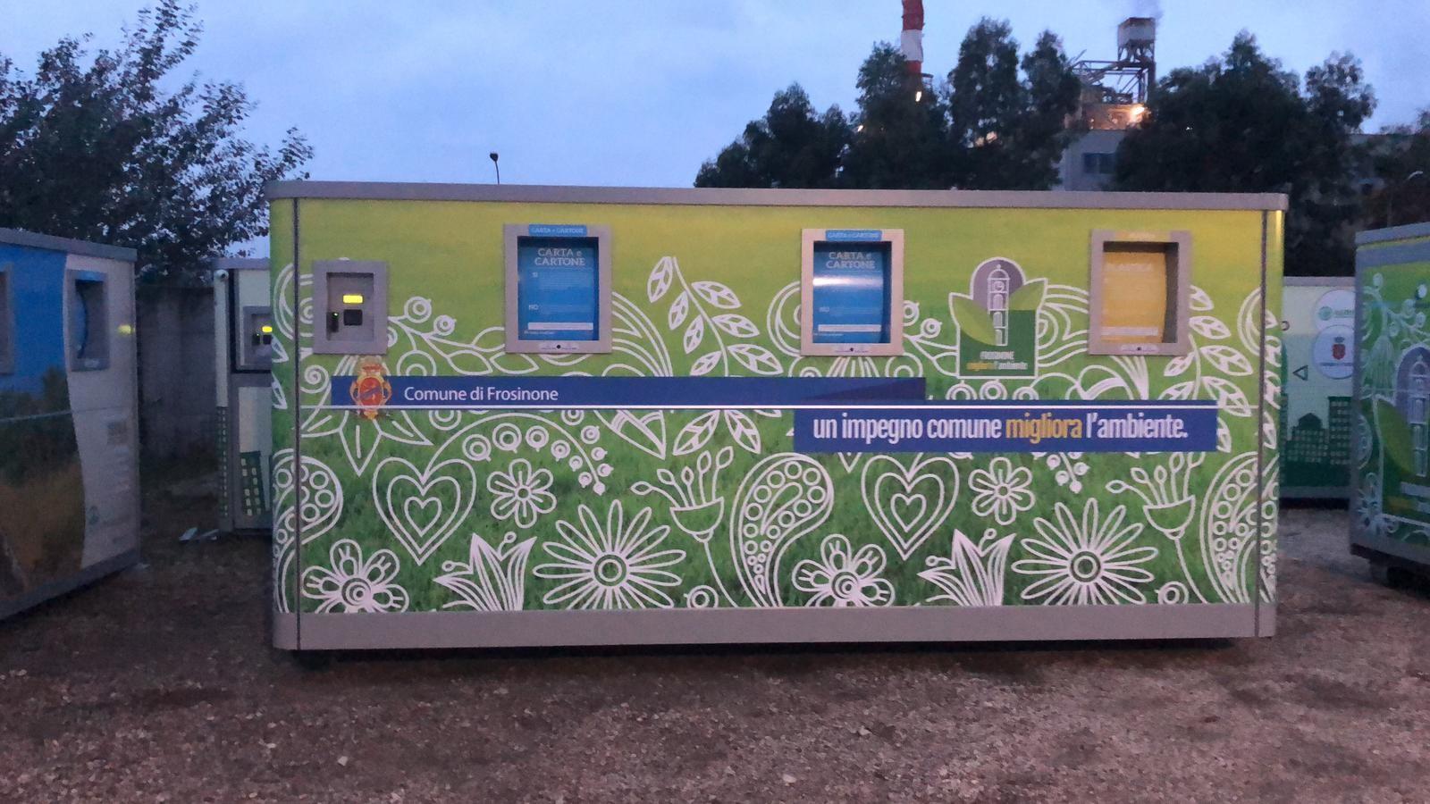 Frosinone attive le isole ecologiche mobili il corriere for Mobili frosinone e provincia