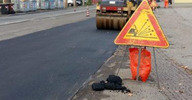 Isola del Liri: quasi completato il nuovo manto stradale in via Romana Selva