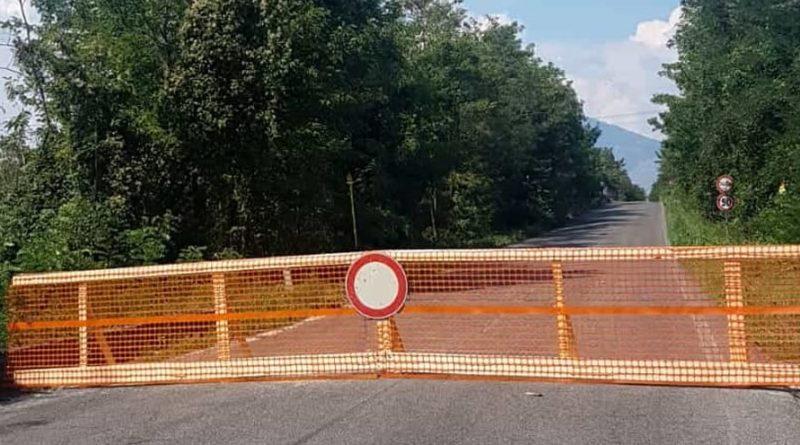 ponte fiume liri san giorgio pignataro frosinone ciociaria provincia lavori