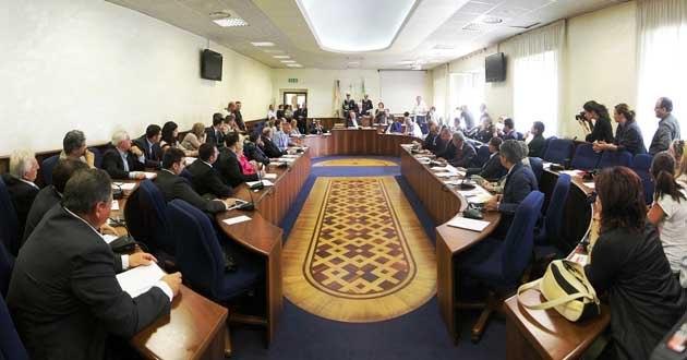 consiglio comunale frosinone project parco matusa zeppieri ottaviani il corriere della provincia
