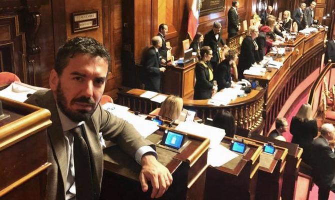 Ruspandini senato infrastrurtture il corriere della provincia fratelli d'italia ciociaria frosinone ceccano Toninelli