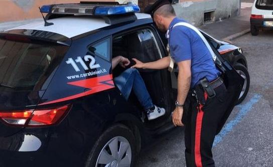 carabinieri il corriere della provincia arresto