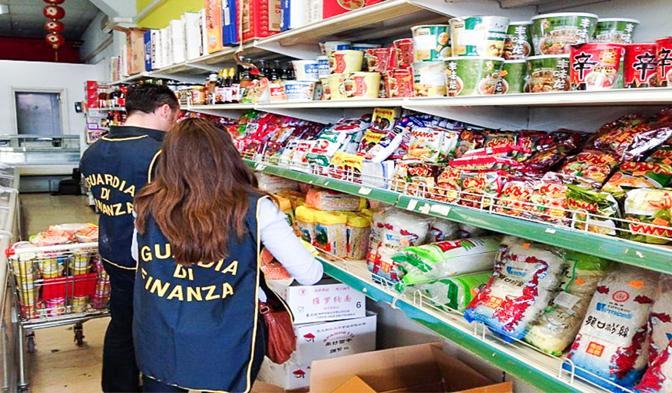 Guardia di Finanza evasione fiscale fiuggi prodotti alimentari il corriere della provincia ciociaria frosinone