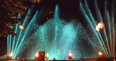 spettacolo fontane danzanti ferentino il corriere della provincia
