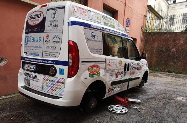 furgone disabili comune sora frosinone ciociaria