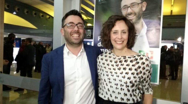 Mauro Buschini e Sara Battisti frosinone il corriere della provincia ciociaria frosinone regione lazio