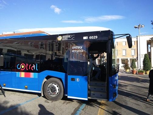autobus cotral il corriere della provincia controlli furbetti