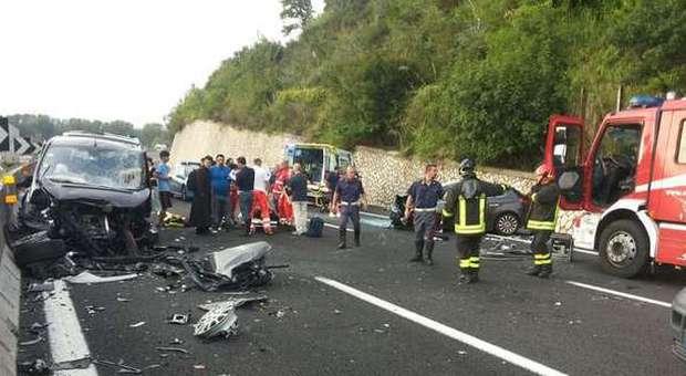 incidente mortale autostrada il corriere della provincia ciociaria frosinone polstrada