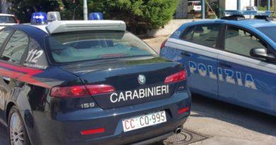 polizia carabinieri arresto il corriere della provincia