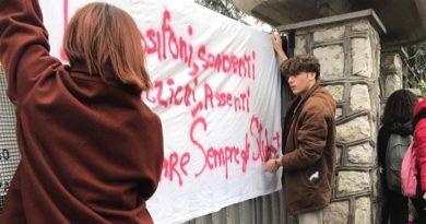 protesta studenti manifestazione provincia frosinone il corriere della provincia