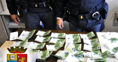 soldi falsi polizia frosinone il corriere della provincia ciociaria