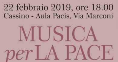 All'Aula Pacis di Cassino 'Musica per la pace'