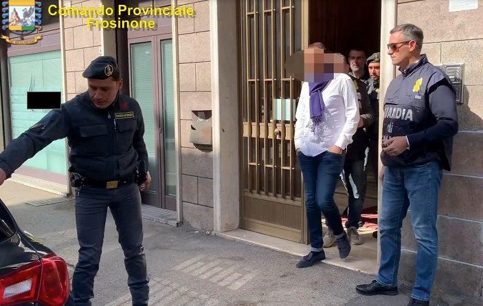 finanza imprenditore cassino arresto il corriere della provincia