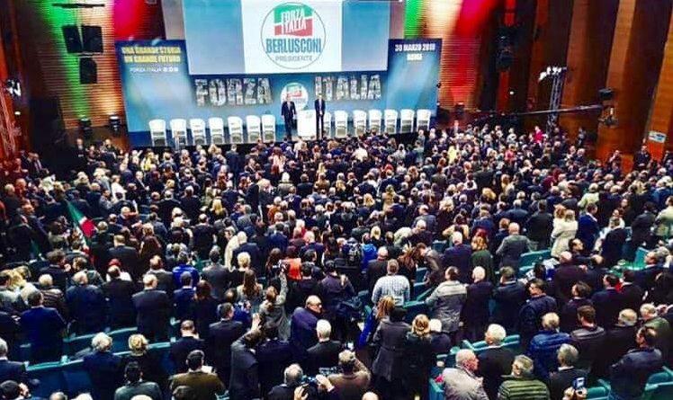 convention forza italia il corriere della provincia