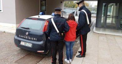 arresto donna il corriere della provincia