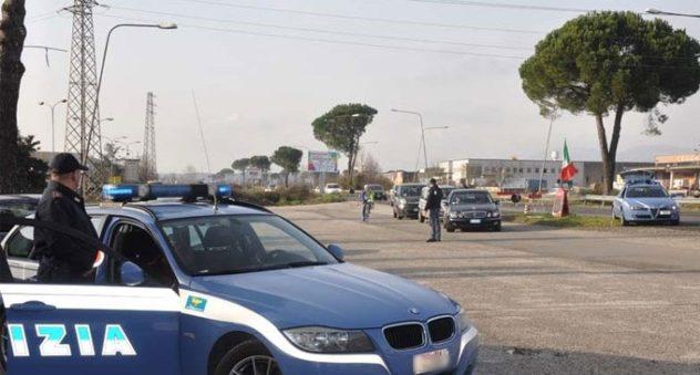 polizia zona asi frosinone il corriere della provincia