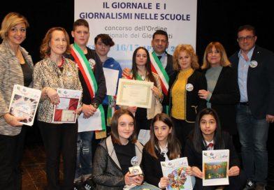 Scuola di Pontecorvo premiata al concorso dell'Ordine dei giornalisti
