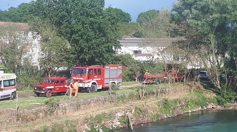 vigili del fuoco cassino fiume gari il corriere della provincia frosinone