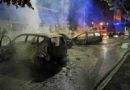 Frosinone, incendiano quattro auto per assaltare una gioielleria
