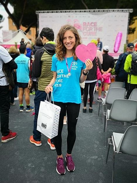 race for the cure ilaria tersigni sora il corriere della provincia