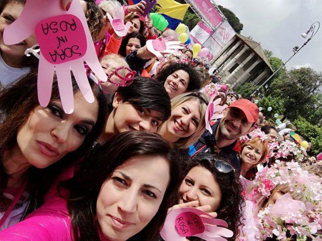 iniziativa donne maria grazia cucinotta roma race for the cure
