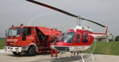 Vigili del Fuoco Aeronautica militare aeropero moscardini il corriere della provincia frosinone