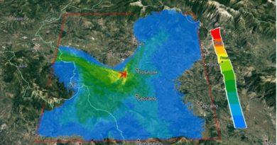 arpa mecoris mappa il corriere della provincia