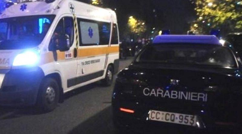 carabinieri ambulanza notte il corriere della provincia