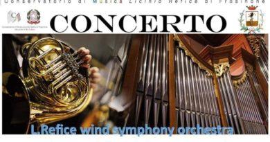 Refice wind symphony orchestra il corriere della provincia frosinone italia ciociaria san cataldo supino