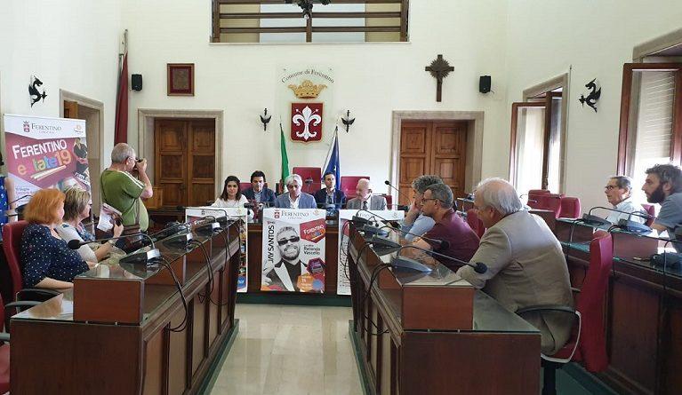 estate ferentino conferenza antonio pompeo sindaco il corriere della provincia
