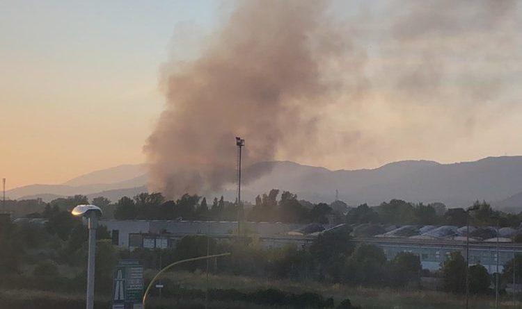 incendio mecoris il corriere della provincia ciociaria nube tossica
