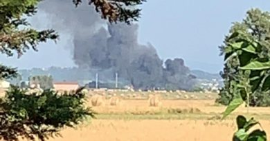 mecoris il corriere della provincia frosinone ciociaria incendio nube tossica
