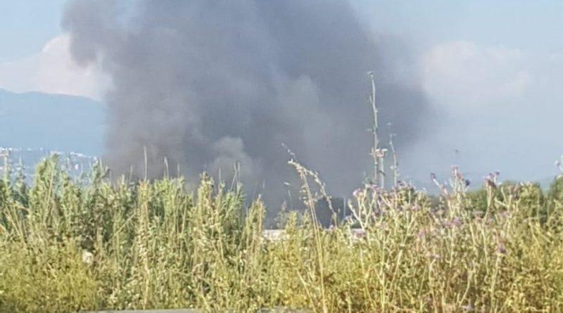 incendio frosinone il corriere della provincia