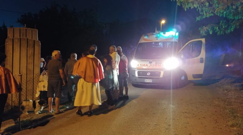 vico processione incidente corriere della provincia