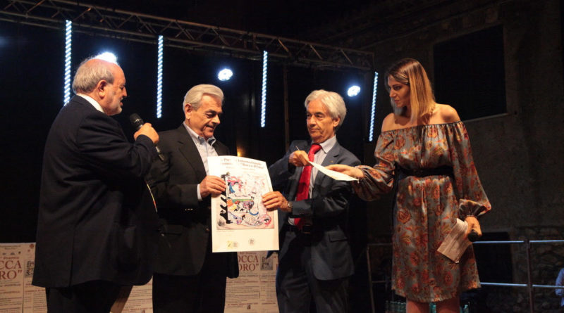 Alberto La Rocca premio rocca d'oro il corriere della provincia