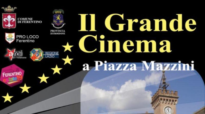 Cinema sotto le stelle ferentino il corriere della provincia