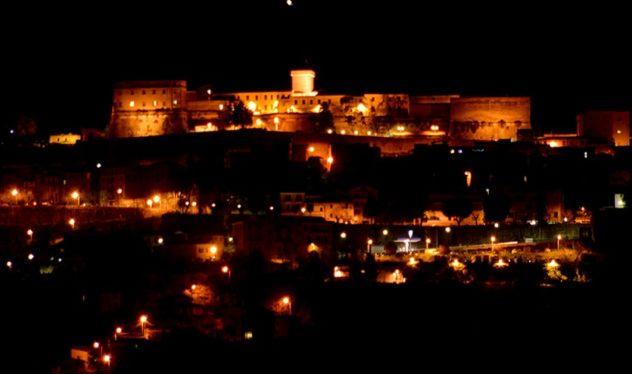 veduta panoramica notturna paliano il corriere della provincia