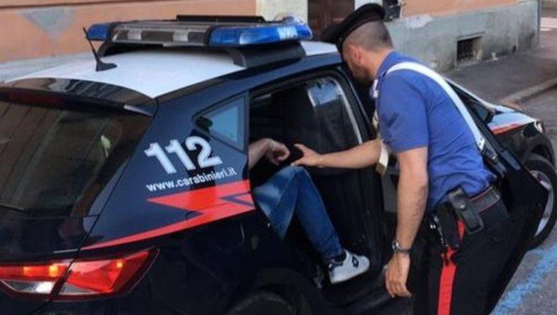 arresto carabinieri il corriere della provincia