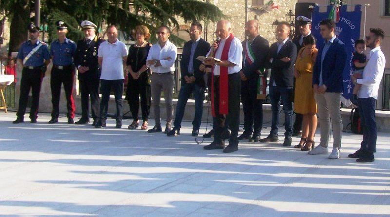 inaugurazione piazza piglio il corriere della provincia