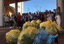 Il Liceo di Ceccano pulisce il mondo, davvero: più di venti sacchi di immondizia raccolti