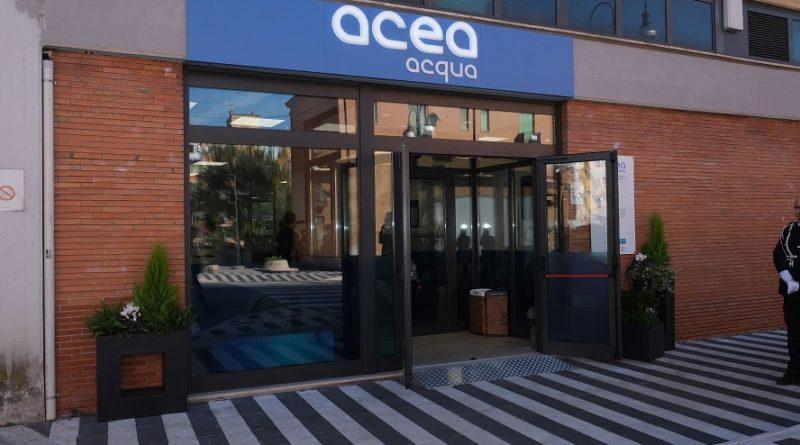 Inaugurazione nuovo sportello Acea