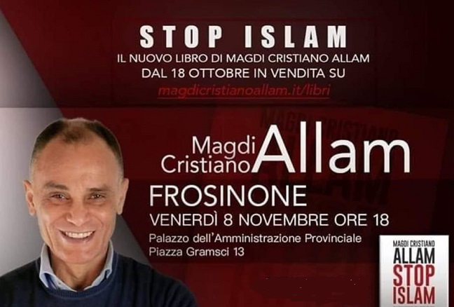 Stop Islam frosinone allam