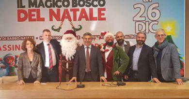 Cassino, al via la nuova edizione de 'Il Magico Bosco di Natale'