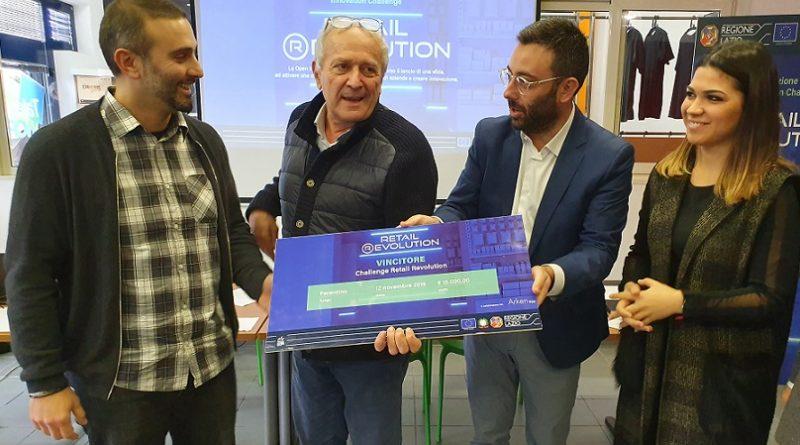 premiazione lazio innova arken negozio il corriere della provincia
