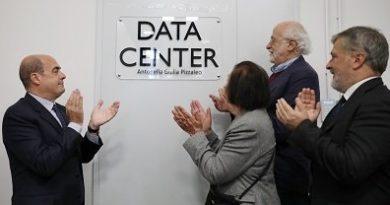 data center regione lazio nicola zingaretti alessio d'amato