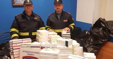 polizia farmaci sequestro frosinone ancona