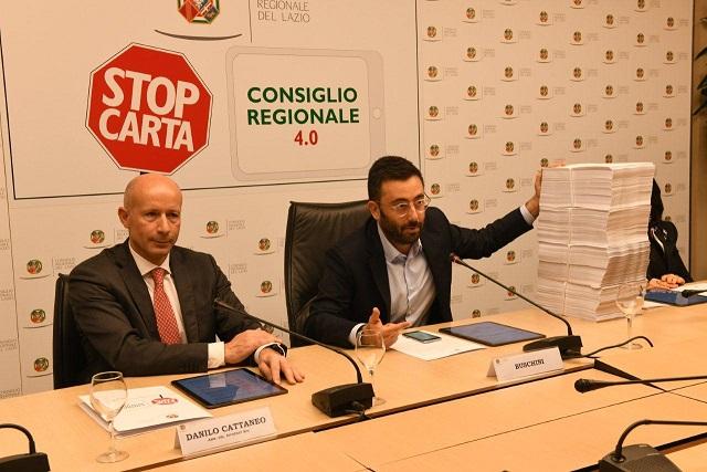 Mauro Buschini consiglio regionale Lazio frosinone ciociaria