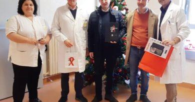 sora polo oncologico donazione tablet ciacciarelli di mambro