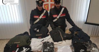 abbigliamento sequestro il corriere della provincia